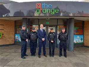 New police base in Blackpool.