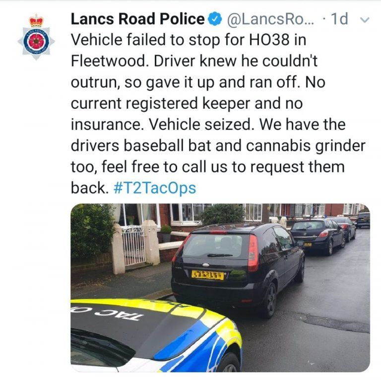 Police have been busy.