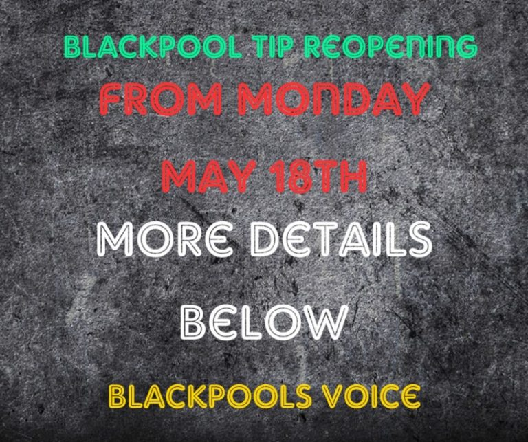 Blackpool Tip reopening