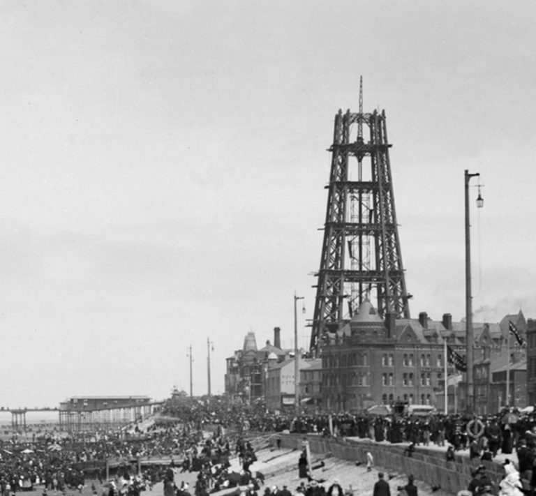 Happy Birthday to Blackpool Tower.