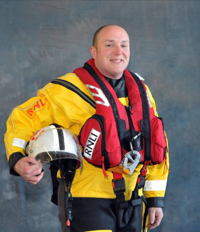 RNLI BLACKPOOL says goodbye to long serving member of the team.
